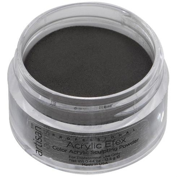 Artisan Color Acrylic Powder - True Black 0.5 oz. (119100)