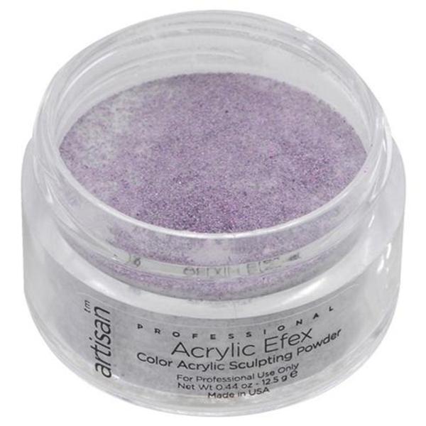Artisan Color Acrylic Powder - Purple Glitters 0.5 oz. (119112)