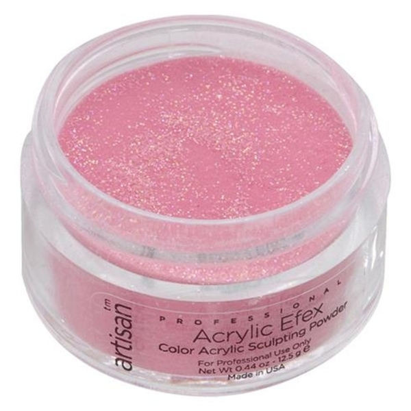 Artisan Color Acrylic Powder - Pink Glitters 0.5 oz. (119115)