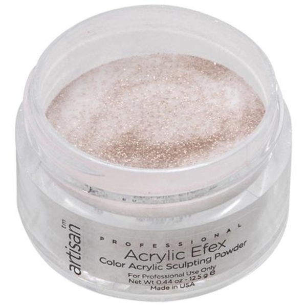 Artisan Color Acrylic Powder - Gold Glitters 0.5 oz. (119117)