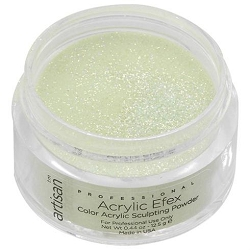Artisan Color Acrylic Powder - Green Sparkles 0.5 oz. (119118)