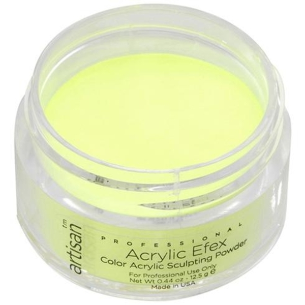 Artisan Color Acrylic Powder - Bright Yellow 0.5 oz. (119125)