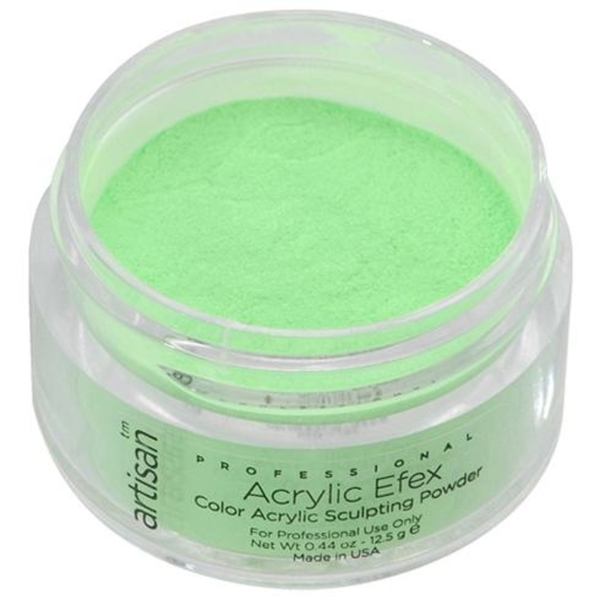 Artisan Color Acrylic Powder - Bright Green 0.5 oz. (119127)