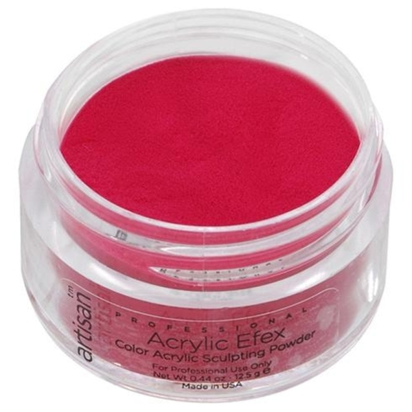Artisan Color Acrylic Powder - Crimson Red 0.5 oz. (119134)