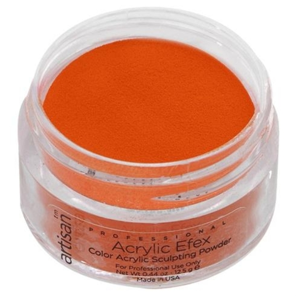 Artisan Color Acrylic Powder - Orange 0.5 oz. (119135)