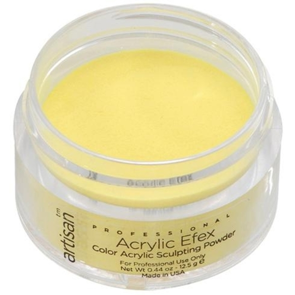 Artisan Color Acrylic Powder Pro Size - Yellow 1 oz. (119147)