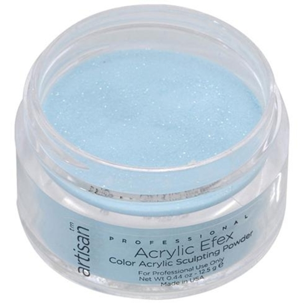 Artisan Color Acrylic Powder Pro Size - Blue Sparkles 1 oz. (119163)