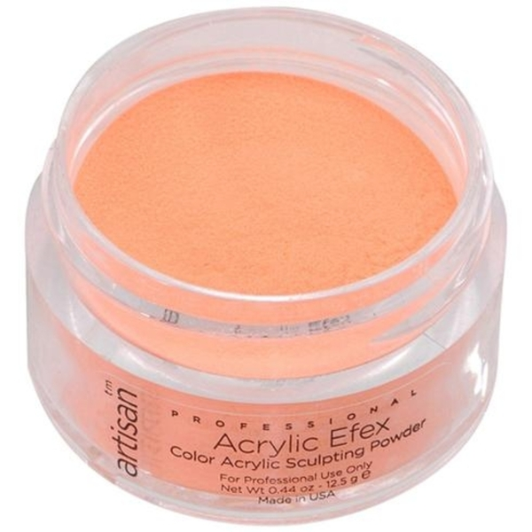 Artisan Color Acrylic Powder Pro Size - Bright Orange 1 oz. (119167)