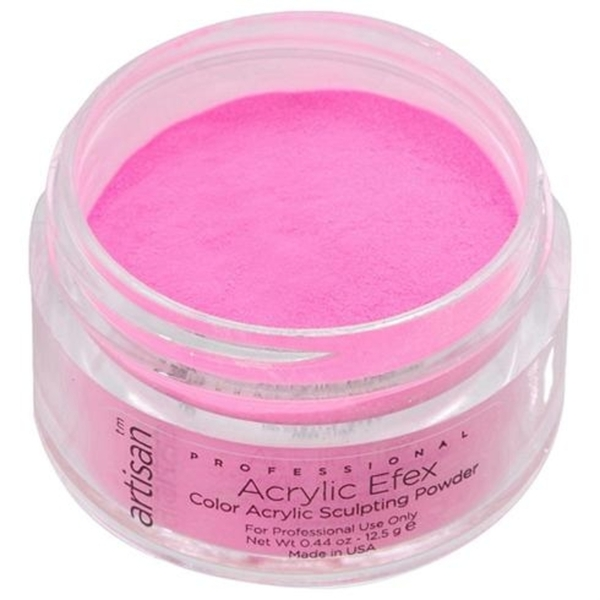 Artisan Color Acrylic Powder Pro Size - Bright Pink 1 oz. (119169)