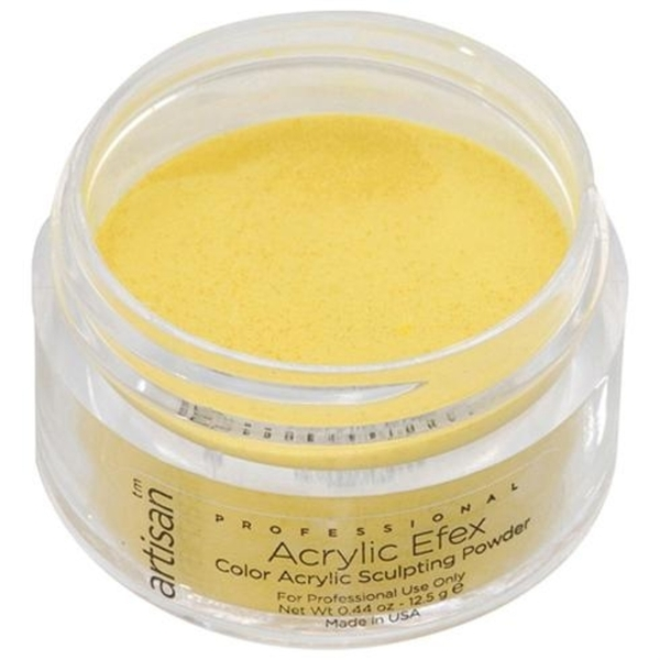 Artisan Color Acrylic Powder Pro Size - Deep Yellow 1 oz. (119171)