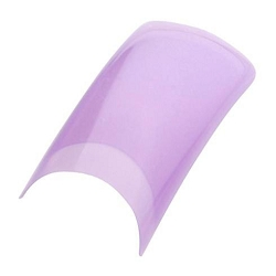 Color Nail Tips - Mauve Pack of 100 (119513)