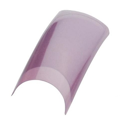 Color Nail Tips - Purple Iris Pack of 100 (119517)