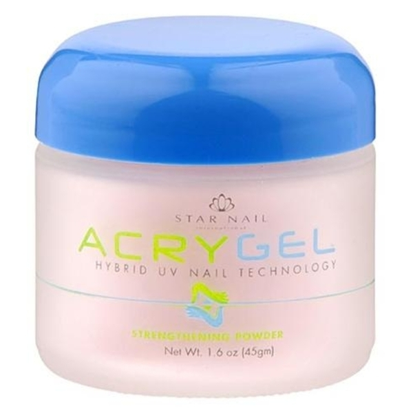StarNail AcryGel Nail Powder - Pink 1.6 oz. (120033)