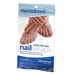 Gel Polish Nail Wraps Remover 10 Pack (120039)