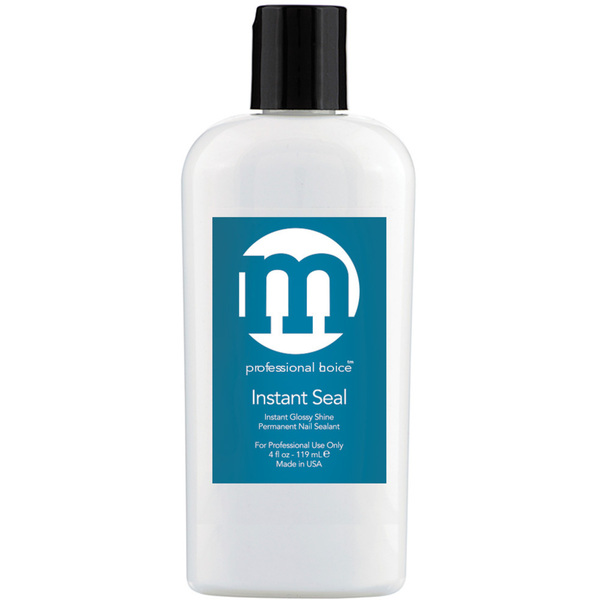 M Professional Choice - Instant Seal Gel Top Coat - No Wipe - Tacky-Free 4 oz. (118.3 mL.) (128001)