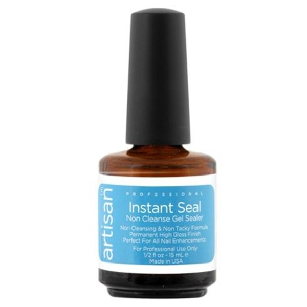Artisan Instant Seal Non Cleanse Gel Nail Sealer 0.5 oz. (129006)