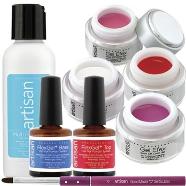 Soak Off Professional Gel Starter Kit - Each (129016)