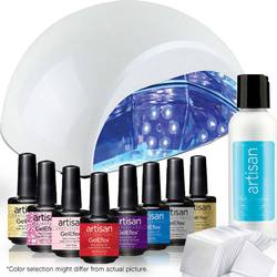 ProMaster Gel Nail Polish Kit - CCFLLED UV Lamp + 6 Artisan Gel Nail Polishes Kit - Set (129021)