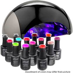 Artisan GelEfex Advanced Formula Master Set - + ProMaster LED 40W Gel Nail Light (129022)