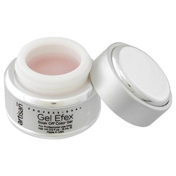 Artisan Soak Off Color Gel Pro Size - Soft Pink 1 oz. (129154)