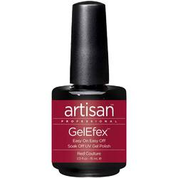 Artisan GelEfex Gel Nail Polish - Red Couture - 0.5 oz (15 mL.) (129714)