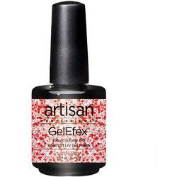 Artisan GelEfex Gel Nail Polish - Jingle Red - 0.5 oz (15 mL.) (129742)