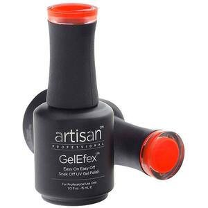 Artisan GelEfex Gel Nail Polish - Advanced Formula - Zesty Orange - 0.5 oz (15 mL.) (129807)