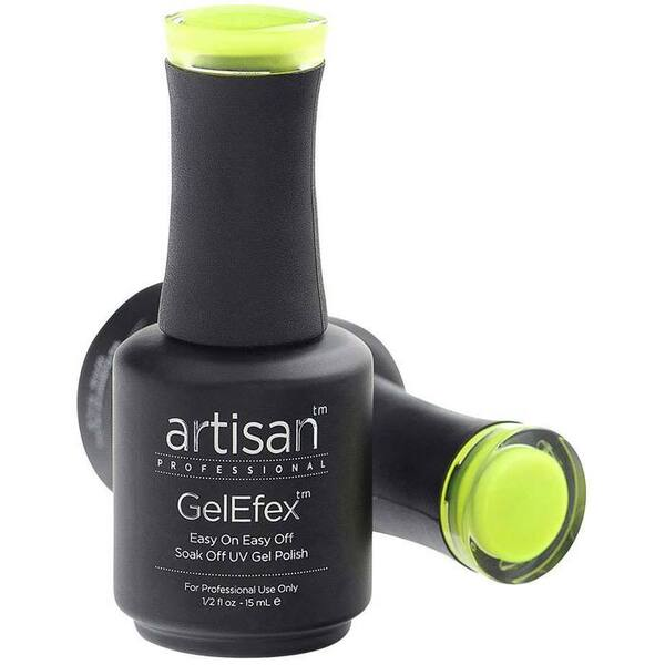 Artisan GelEfex Gel Nail Polish - Advanced Formula - Lemon Zing - 0.5 oz (15 mL.) (129808)