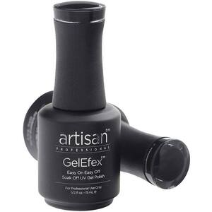 Artisan GelEfex Gel Nail Polish - Advanced Formula - Black Knight - 0.5 oz (15 mL.) (129817)