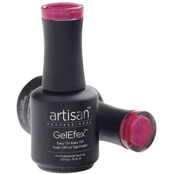Artisan GelEfex Gel Nail Polish - Advanced Formula - Glistening Rose - 0.5 oz (15 mL.) (129821)