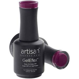Artisan GelEfex Gel Nail Polish - Advanced Formula - Pumped Up Plum - 0.5 oz (15 mL.) (129825)