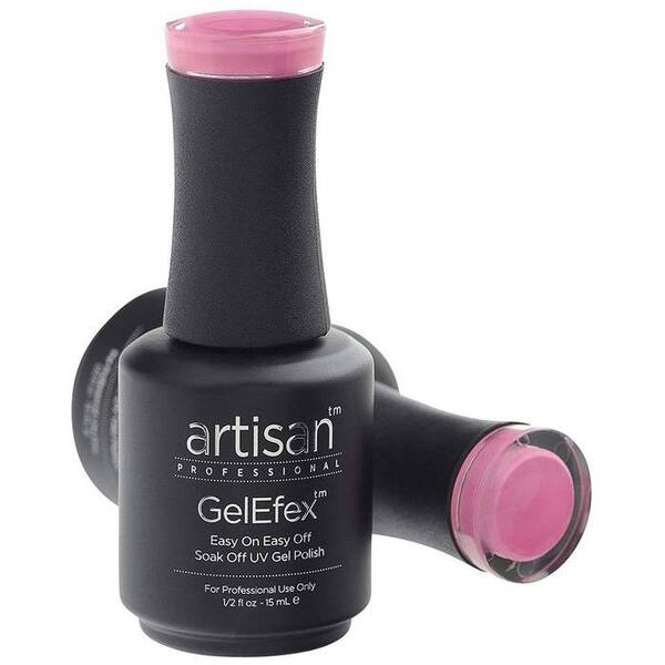 Artisan GelEfex Gel Nail Polish - Advanced Formula - Bubble Gum Pink - 0.5 oz (15 mL.) (129835)