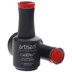 Artisan GelEfex Gel Nail Polish - Advanced Formula - 50's Red Lipstick - 0.5 oz (15 mL.) (129867)