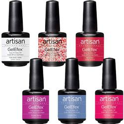 Artisan GelEfex Gel Nail Polish - Wild Things Collection - Set of 6 Pieces (129910)