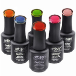 Artisan GelEfex Gel Nail Polish - Advanced Formula - Cinematic Collection - Set of 6 (129975)