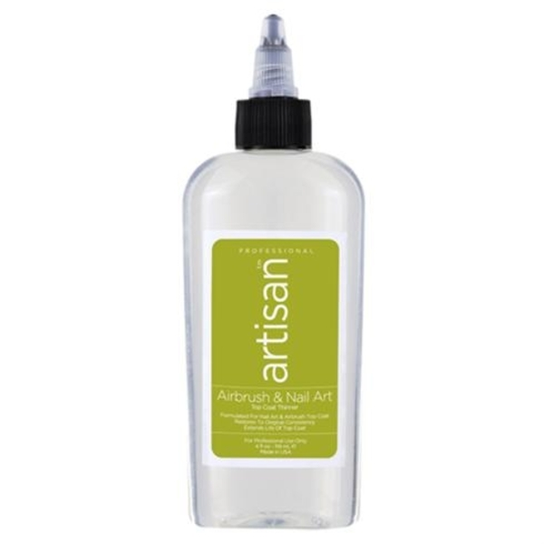 Artisan Airbrush & Nail Art Topcoat Thinner 4 oz. (229004)