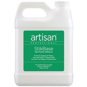 Artisan StikBase Nail Polish Adhesive - Prevents Chipping & Peeling - 32 oz (946 mL.) (229029)
