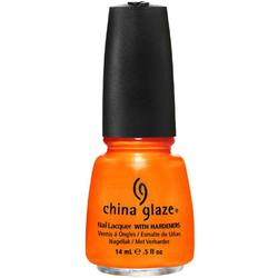 China Glaze Nail Polish - Orange You Hot? - 12 oz (14 mL.) (240445)
