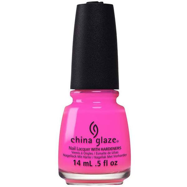 China Glaze Nail Polish - Glow With The Flow - 0.5 oz (14 mL.) (248602)