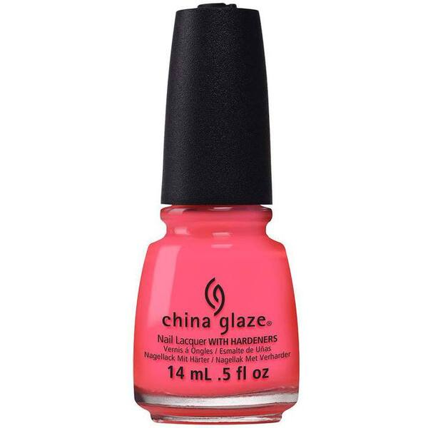 China Glaze Nail Polish - Red-Y To Rave - 0.5 oz (14 mL.) (248603)