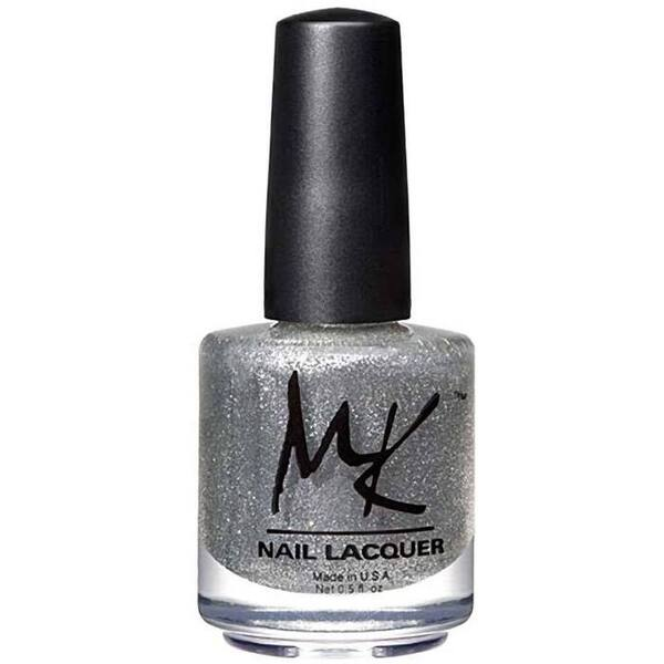 MK Nail Polish - Silver Jets - 0.5 oz (15 mL.) (260057)