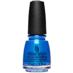 China Glaze Nail Polish - Crushin' On Blue 0.5 oz. - 14.79 mL. (283224)