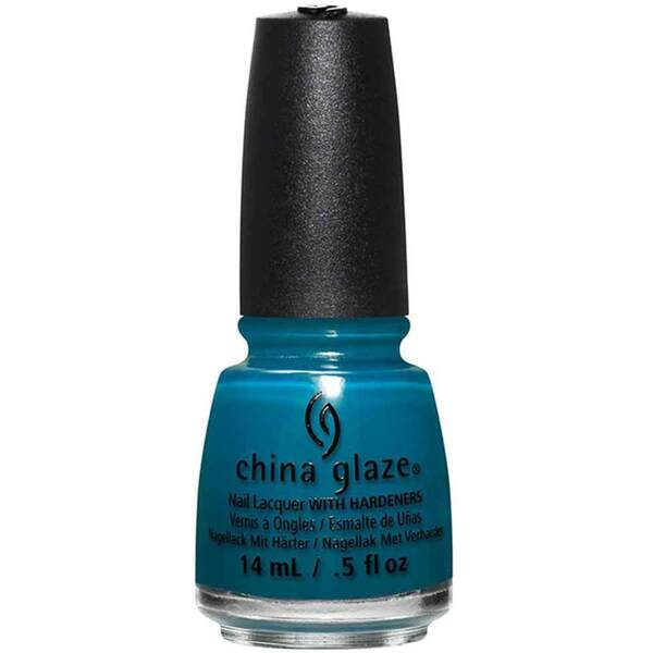 China Glaze Nail Polish - Jagged Little Teal - 0.5 oz (14.79 ml) (283611)
