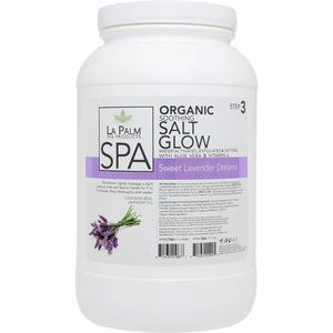 La Palm Pedicure Salt Glow Purple 1 Gallon (320102)