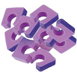 Toe Separators - Single Toesies For Pedicures - Purple 144 Pieces (320144)