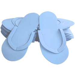 Comfy Foam Pedicure Slippers - Sewed Strap - Blue Case of 240 Pairs (320150)