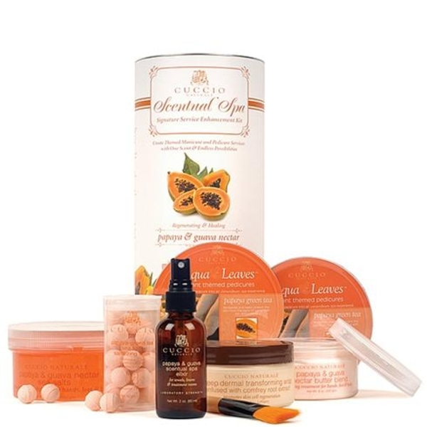 Cuccio Naturale Scentual Spa Signature Service Kit - Papaya Guava (340035)