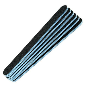 Double Sided Cushioned Nail File - Blue Center 8080 Grit 50 Pack (410004)