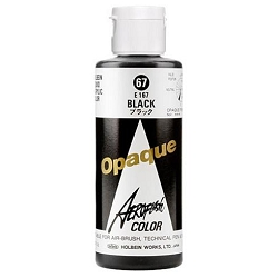 Holbein Airbrush Paint - Black 67 4 oz. (510030)