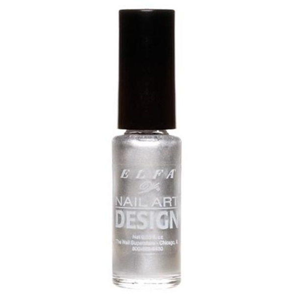 Elfa Nail Art Design - Silver 0.25 oz. (520079)